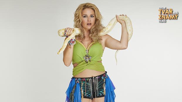 Zuzana Norisová jako Britney Spears - I'm a Slave 4 U